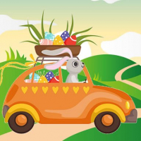 Bunnies Driving Cars Match 3