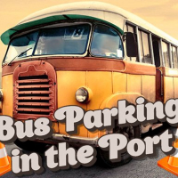 Bus Parking in the Port