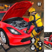 Car Mechanic Auto Workshop Repair Garage