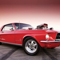Classic Muscle Cars Jigsaw Puzzle 2