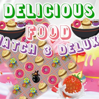Delicious Food Match 3 Deluxes