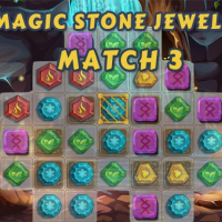 Magic Stone Jewels Match 3