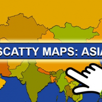 Scatty Maps: Asia