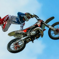 Dirt Bike Stunts Puzzle