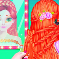 Top Stylist Model-Makeup Dress up game